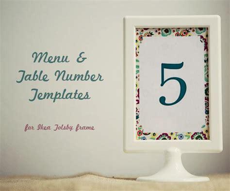 table numbers wedding template plantillas de 250 y guirnalda para tu boda desc 225 rgalas