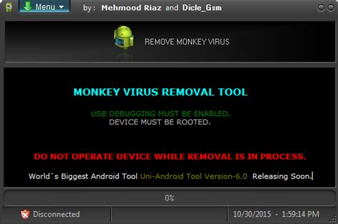 how to check android for virus tool windows monkey virus removal tool android development and hacking