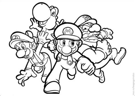 print amp download super mario coloring pages to print