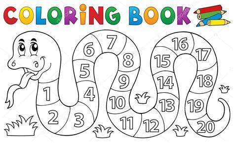 libro nmero cero number serpiente de libro para colorear con tema de n 250 meros archivo im 225 genes vectoriales 169 clairev
