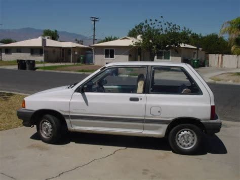 automotive service manuals 1988 ford festiva transmission control 1988 ford festiva l 5 speed runs great well maintained new tires current reg
