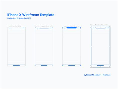 Iphone X Wireframe With Ios 11 Guides Freebie Download Sketch Resource Sketch Repo Ios Wireframe Template