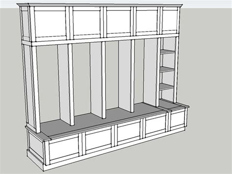 sle dimensions of mudroom cubbies mudroom pinterest building plans for mud room lockers valerie custom
