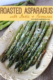 roasted asparagus with garlic parmesan www