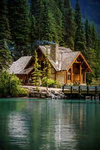 Big Cabins On The Lake by Cabin At The Lake Photograph By Nay