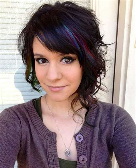 a symetrical asymmetrical bob haircuts for curly hair life style by