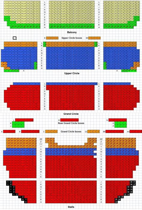 theatre royal seating chart drury theatre royal seating plan events shows