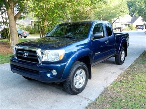 Toyota Tacoma 4 Door V6 Purchase Used 2007 Toyota Tacoma Sr5 Pre Runner Extended