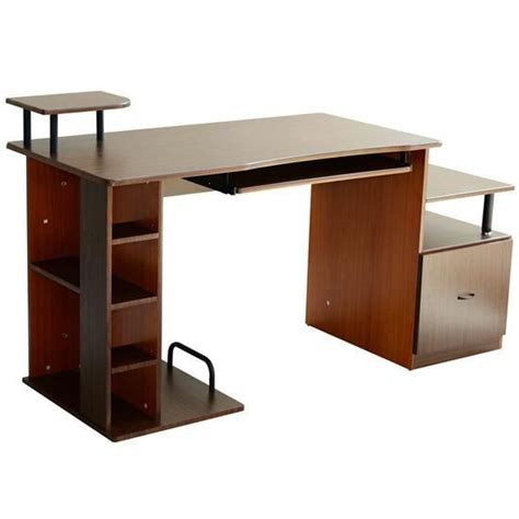 Multi Level Computer Desk by Equipment Multi Level Home Office Computer Desk