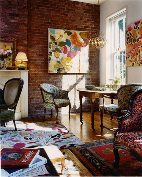 interior design eclectic eclectic living room design by new york interior designer