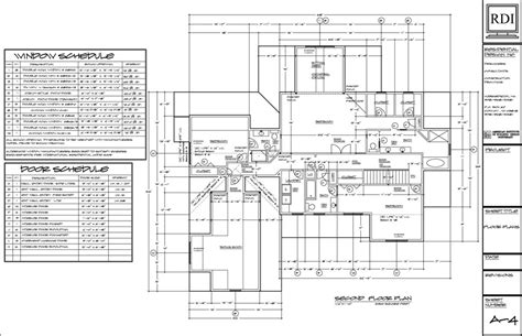 technical floor plan floor plans drawings residential design inc