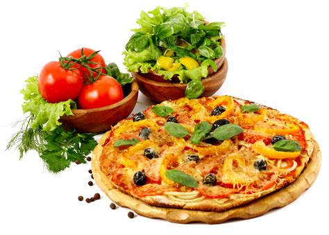 Image Pizza Tomatoes Fast food Food White background