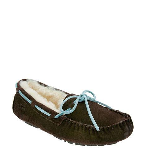 uggs dakota slippers ugg dakota slipper in brown coffee lyst