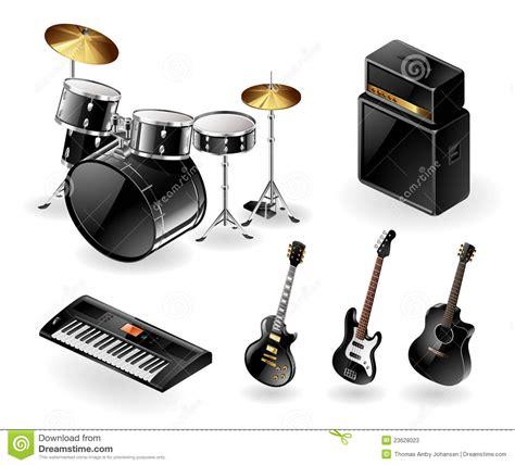 imagenes de instrumentos musicales electronicos instrumentos musicales modernos ilustraci 243 n del vector