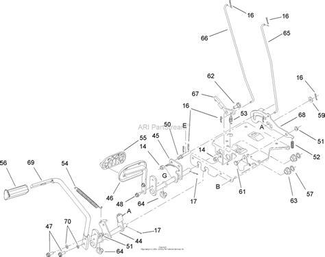 toro bxrg lx lawn tractor  sn ch parts diagram  brake