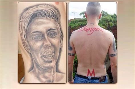 miley cyrus tattoo guy millenial scum commits epic self ownage details inside