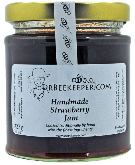 Handmade Jam - drbeekeeper handmade strawberry jam 0 5 lb drbeekeeper