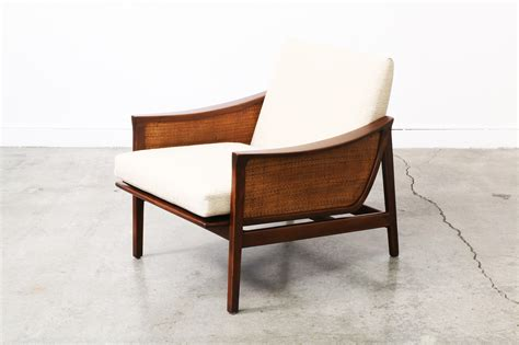Midcentury Modern Lounge Chair by Mid Century Modern Caned Lounge Chair Vintage Supply Store