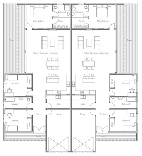 duplex floor plans duplex house plan with open plan house plan