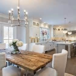kitchen and dining room layout ideas layout l shaped kitchen with island and eat in table at