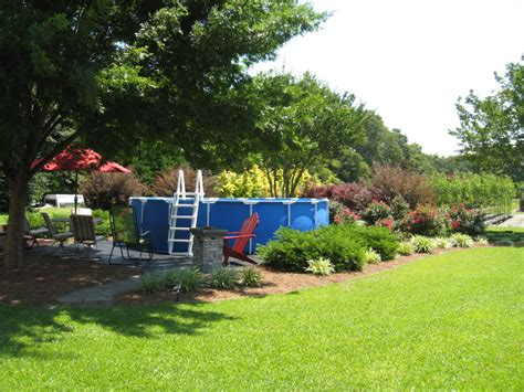 backyard above ground pool landscaping ideas what you must know about above ground pool ideas homestylediary com