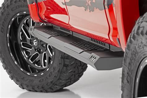 rough country cab length hd running boards