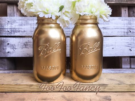 home decor jars large size gold mason jars centerpieces home decor