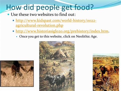 How Did Age Find Food Paleolithic Age Vs Neolithic Age