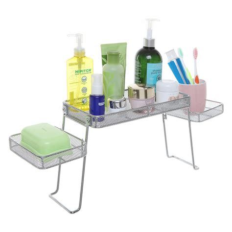 Sink Organizer by Modern Perforated Chrome Plated Metal The Sink