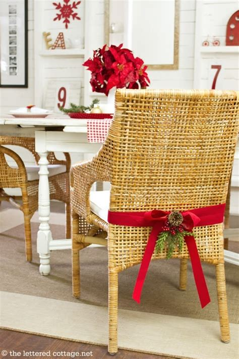 holiday chair decor ideas pinterest