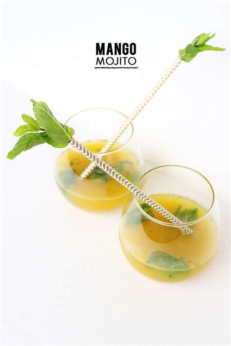 mango mojito recipe 143 best tropical wedding food drink images on pinterest