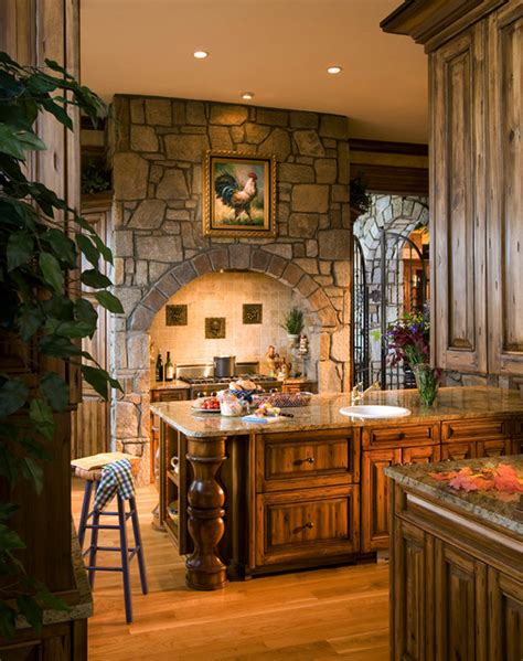 Spanish Ranch House Plans French Country Gothic Mountain Modern Kitchen