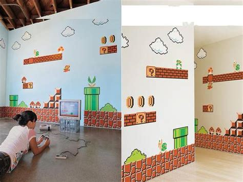 Apple Iphone Decal Mario Wall mario bros wall decals gadgetsin