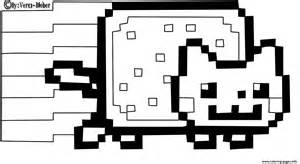 nyan cat coloring pages cat coloring pages for autos post