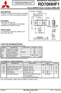 rd70hhf1 datasheet