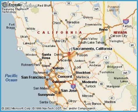 sacramento california map sacramento map travelsfinders