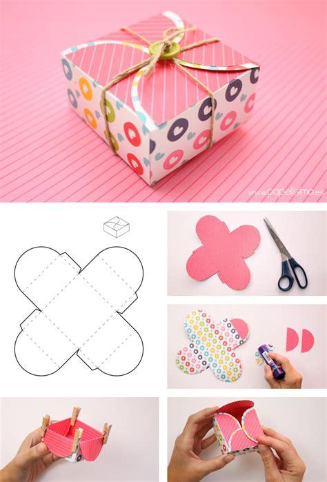 como hacer pelucas de papel 4 cajas de cartulina para regalo de scrapbooking con