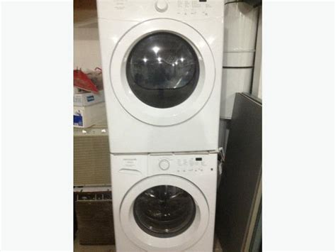 frigidaire affinity washer frigidaire affinity front load washer dryer set stratford pei mobile