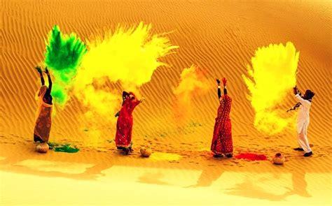 rajasthani holi   grand celebration  rajasthan