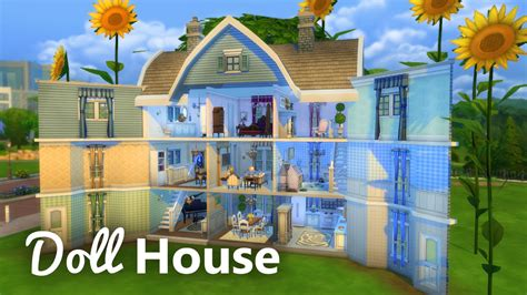 the dolls house builder the sims 4 build doll house youtube