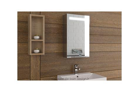 armoire miroir de salle de bain armoire salle de bain lumineuse simple porte 40 cm de