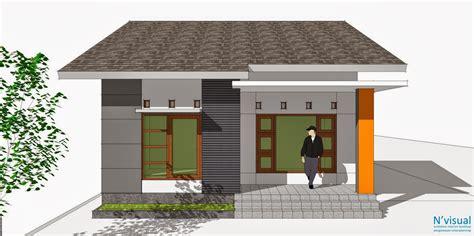 desain rumah minimalis  hemat biaya desain rumah