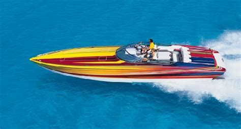 cigarette boat mph the top 20 coolest speed boats cigarette racers