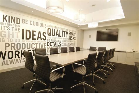 meeting room chair layout modern conference room boardroom design business decor