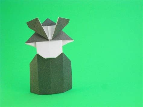 Origami Samurai - 248 best ideas about origami paper dolls on