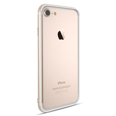 apple iphone 7 plus bumper totu gold
