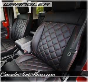 Jeep Wrangler Custom Leather Seats 2011 2012 Jeep Wrangler Quilted Leather Upholstery