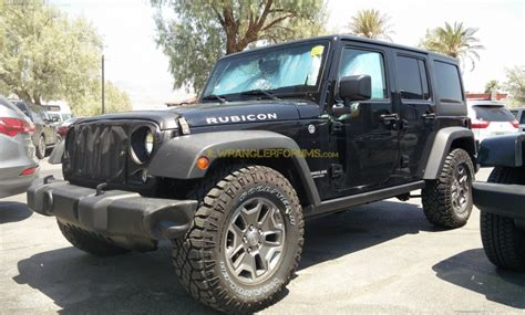 2018 jeep wrangler rubicon 2018 jeep wrangler rubicon diesel spied 2018 jeep