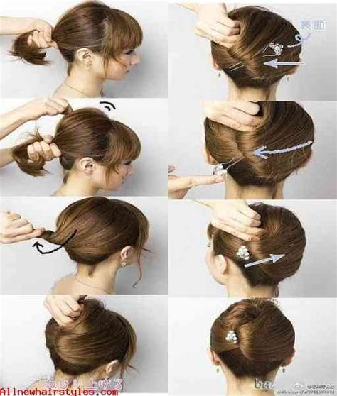 new hairstyle step by step 15 simple step by step hairstyles allnewhairstyles com