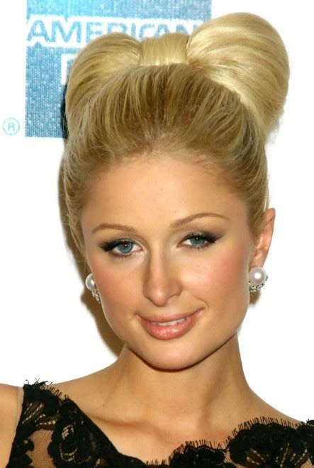 what is a paris style hairdo paris hilton stylish knot hair style hairstyles weekly